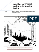 Potential for forest products in interior Alaska