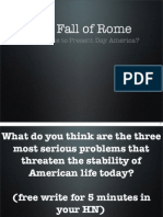 rome's problems