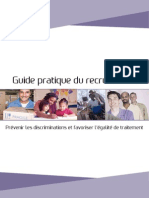 2011 Guide Recrutement USGERES