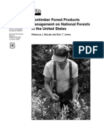 Nontimber forest products management on national forests in the united states