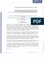Estatutos Aprobados Acta No. 085 de Octubre 2014 Segun Resolucion 3780 de 2014