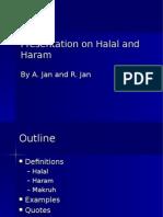 Presentation on Halal and Haram
