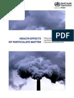 Health Effects of Particulate Matter Final Eng
