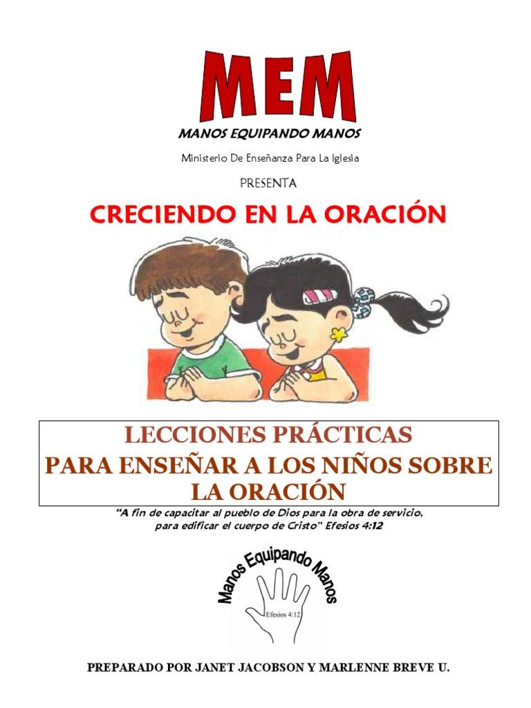Oracion para niños
