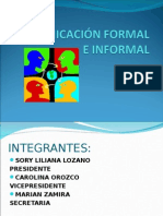 Comunicación Formal e Informal