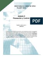 Manual OPUS Planeacion y Control 45
