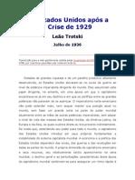 Os Estados Unidos Após a Crise de 1929 - Trotsky