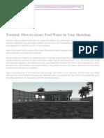 Tutorial - Water in Vray Sketchup.pdf
