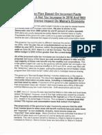 Al DiMillo Review of Gov LePage Tax Scheme