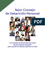 El Mejor Consejo de Desarrollo Personal