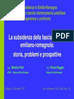 M. Preti, V. Ruggeri, Arpa Subsidenza