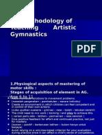 Methods of Teaching Artistic Gimnastics