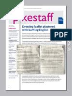 Pikestaff Magazine Nov 2014