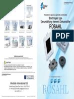 ROSAHL English Catalogue