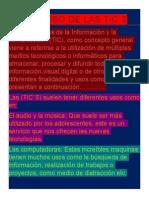 Michel El Uso de Las Tic