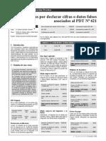 Multa Relacionados Al PDT 621