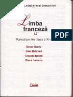 Manual Limba Franceza - Cls a XI a