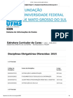 UFMS - Sistema de Informação de Ensino