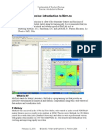 Matlab Introduction for Geology