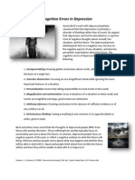 cognitive errors in depression