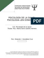 Psicología de La Salud (Ensayo)