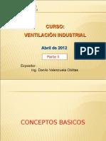 Ventilación Industrial Parte 02-Conceptos Básicos
