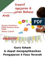 1. Amalan Kreativiti Dalam P&P Bahasa Arab
