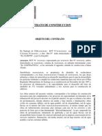 Contrato Construccion modelo Mediterráneo