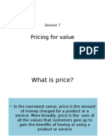 Session 8- Lecture Slides- Pricing