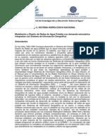 Modelación y Diseño de Redes de Agua Potable con demanda estocástica integrados con Sistema de Información Geográfica