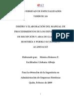 Diseno y elaboracion del manual de procedimientos de los departamentos de recepcion y ama de llav.pdf