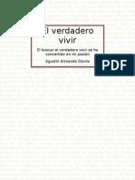 El verdadero vivir - Agustín Armando Dávila