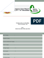 Case Report 5-6 Desember 2014
