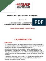 Sesión 3 La Jurisdicción Laboral UAP