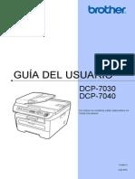 Es US MFC Consumer UsersManual UM DCP 7030 7040 ES 1511