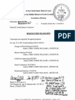 Doc 66-Main - Request for Transcript With Cja-24 Voucher(66-1) and Letter