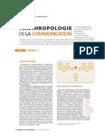 Anthropologie de La Communication