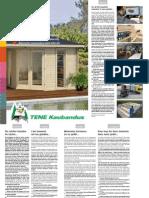 Casas de Madera Catalogo 2014
