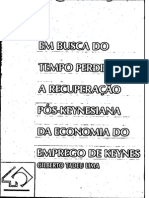 Tadeu Lima (1992) - Em Busca Do Tempo Perdido - Prêmio BNDES