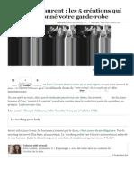 Yves Saint Laurent _ les 5 créations qui ont révolutionné votre garde-robe.pdf