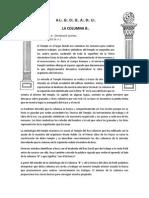 LA COLUMNA  B  by ADL