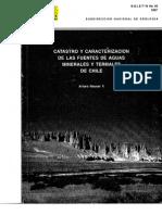 Hauser, 1997 Fuentes Termales Chile