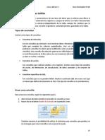 MANUAL Microsoft Access 2007 - Consultas