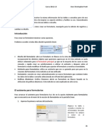 MANUAL Microsoft Access 2007 - Formularios