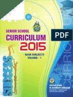 2015 Senior Curriculum Volume 1