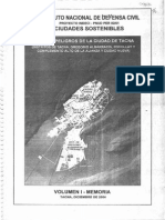 Mapa de Riesgos Tacna