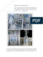 Reactor Glass - Borosilicate Glass