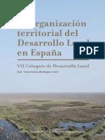 libro Organización territorial DL en España