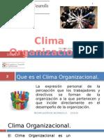 Clima Organizacional Presentación No. 3 (1)