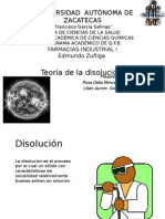 Teoria de La Disolucion-1